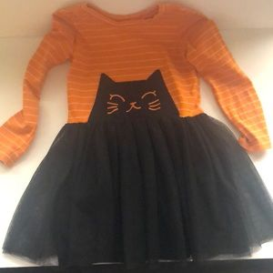 Halloween Cat Tutu Dress